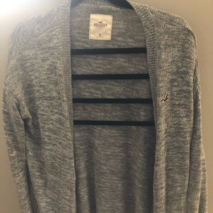Hollister gray cardigan
